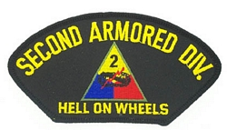 2nd Armored Division Patches